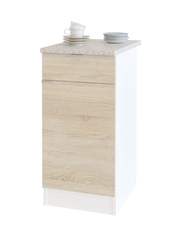 Шкаф с ящиками и дверцей