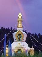 Stupa_Sunset