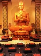 Stupa shrine room
