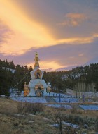 Stupa at Sunrise