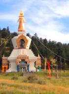 Great Stupa of Dharmakaya at Shambhala Mountain Center