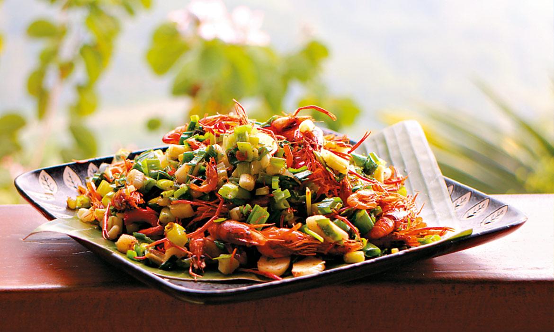 嘉一二九鄉道上的鄒族風味餐,不平凡的路邊攤