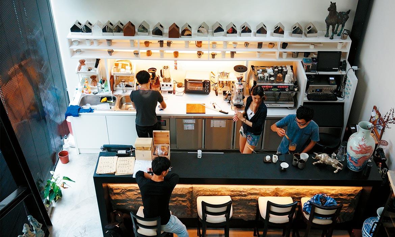 每個城市都有值得停留的咖啡館,台中個性咖啡館整理