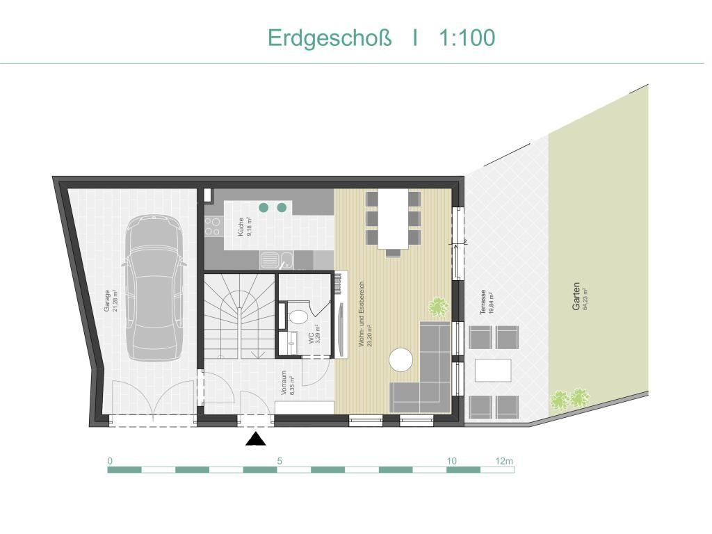 Haus Kauf Wien Wien 21.,Floridsdorf Wien 2417/6475  19 Plan EG
