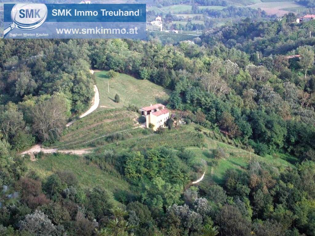 Gewerbeobjekt Kauf Veneto Treviso 310 Vittorio Veneto 2417/7101  3 Blick auf beide Häuser vom Sternenhügel