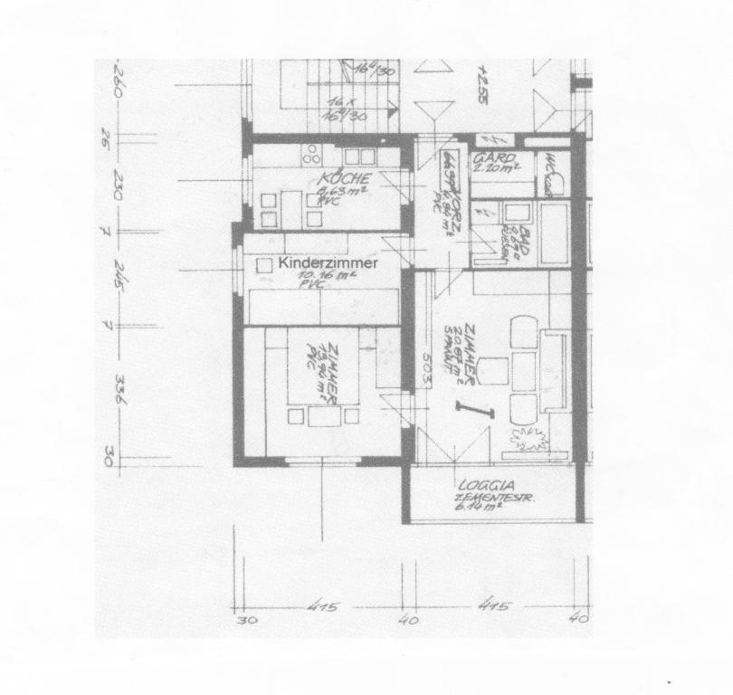 Wohnung Miete Niederösterreich Mistelbach Mistelbach 2417/7420  8 Plan