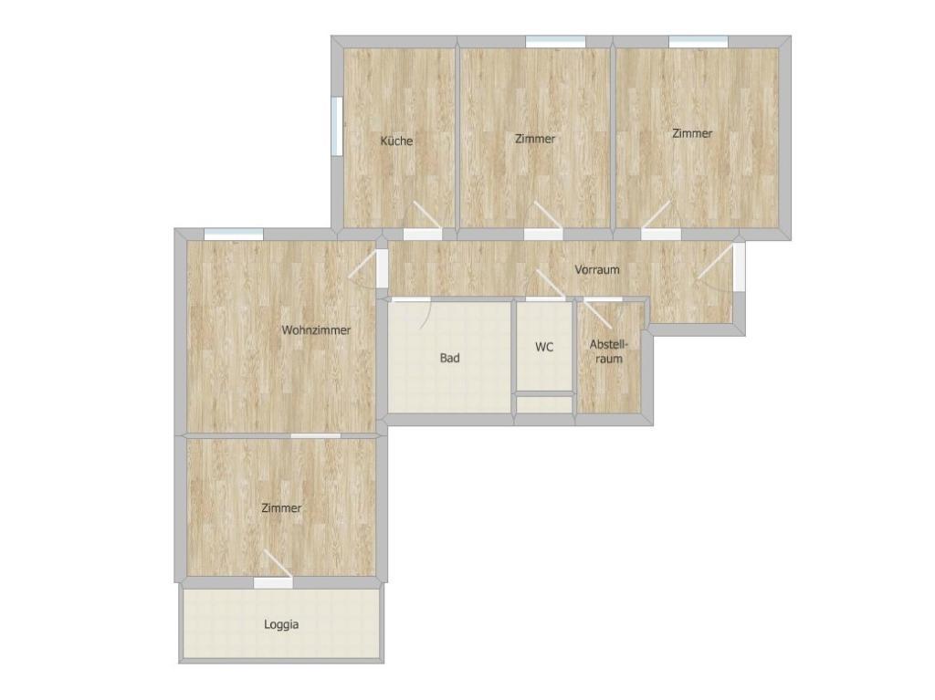 Wohnung Kauf Niederösterreich Hollabrunn Hollabrunn 2417/7635  8 Grundriss