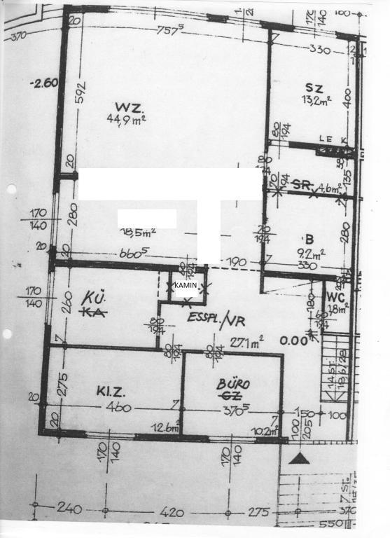 Haus Kauf Niederösterreich Tulln Weidlingbach 2417/7662  10 Plan