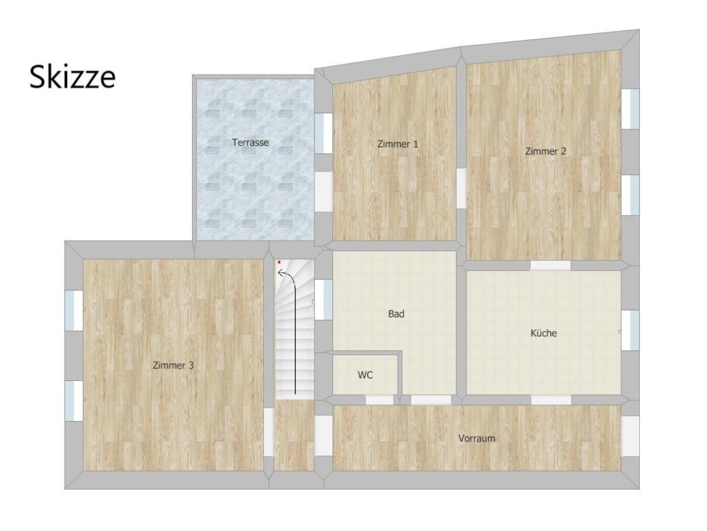 Haus Kauf Niederösterreich Hollabrunn Hollabrunn 2417/7718  21 Skizze EG