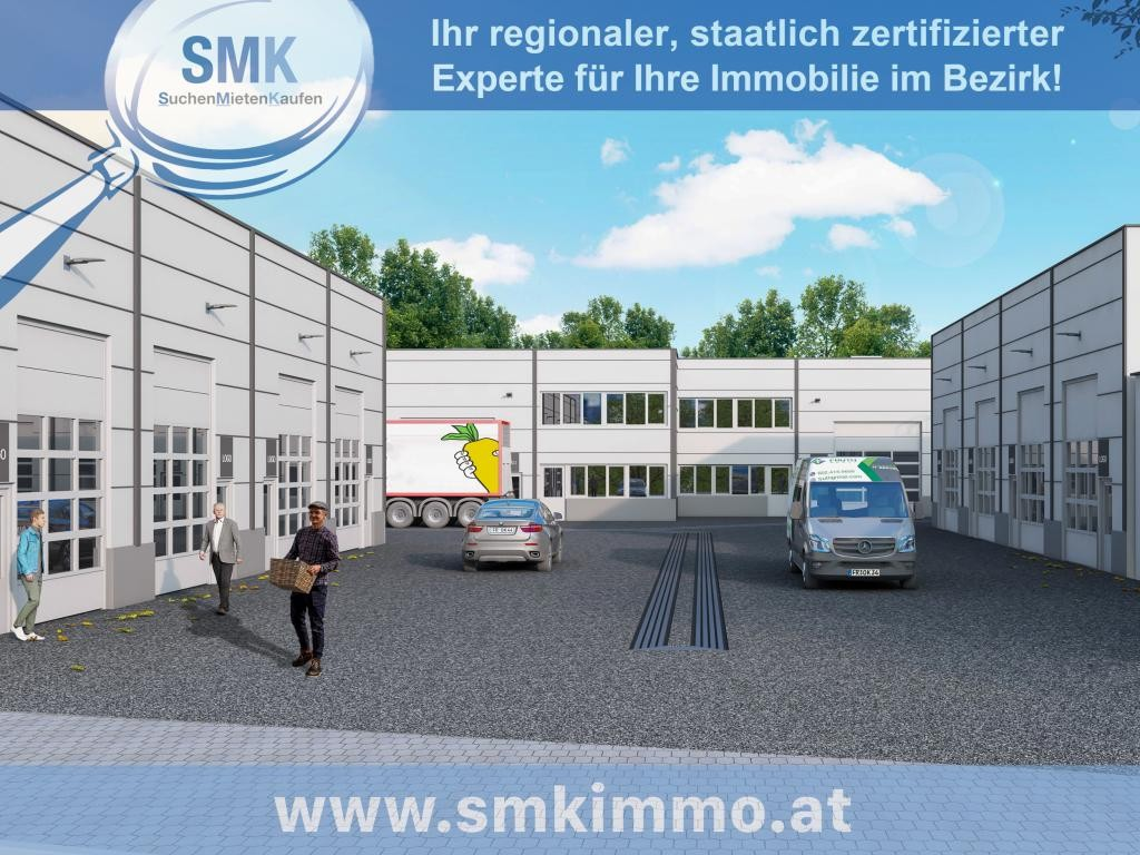 Gewerbeobjekt Miete Niederösterreich Korneuburg Spillern 2417/7887  Symbolbild Einfahrt
