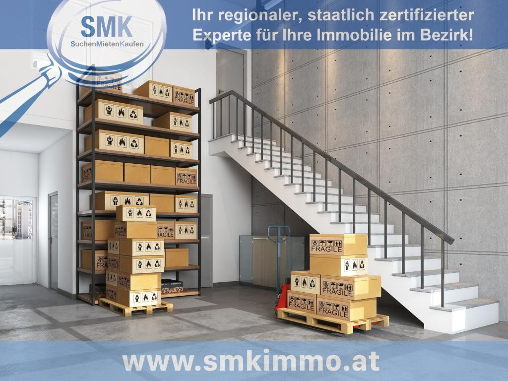 Gewerbeobjekt Miete Niederösterreich Korneuburg Spillern 2417/7888  Lager mit Treppe