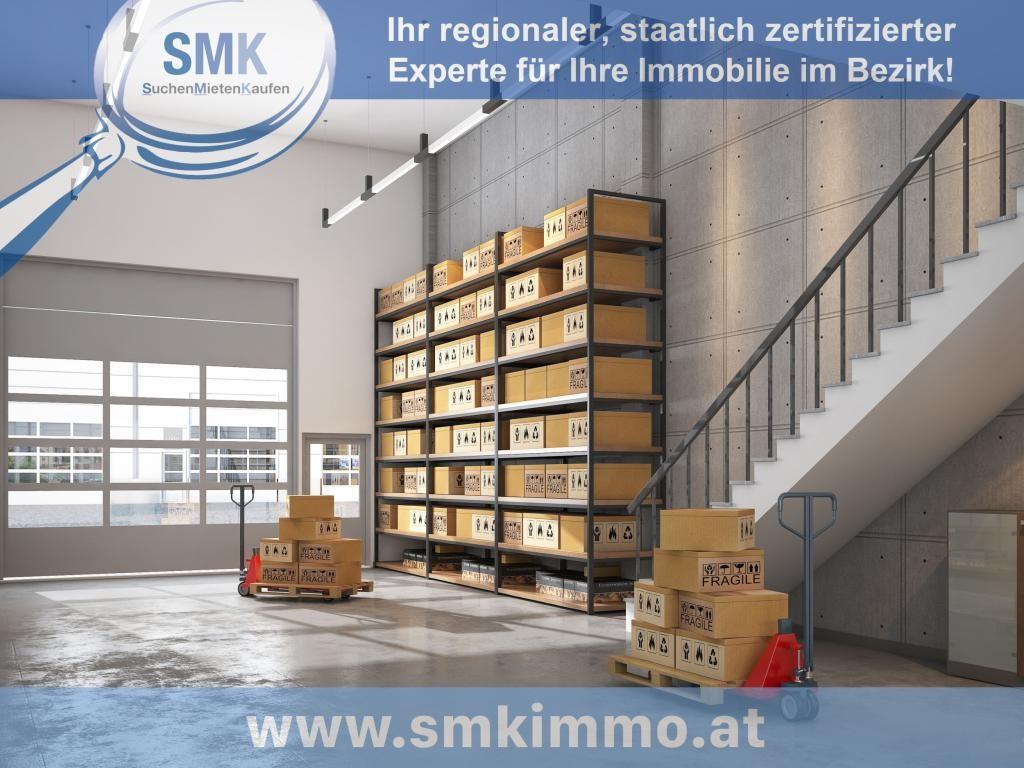 Gewerbeobjekt Miete Niederösterreich Korneuburg Spillern 2417/7889  Halle mit Treppe