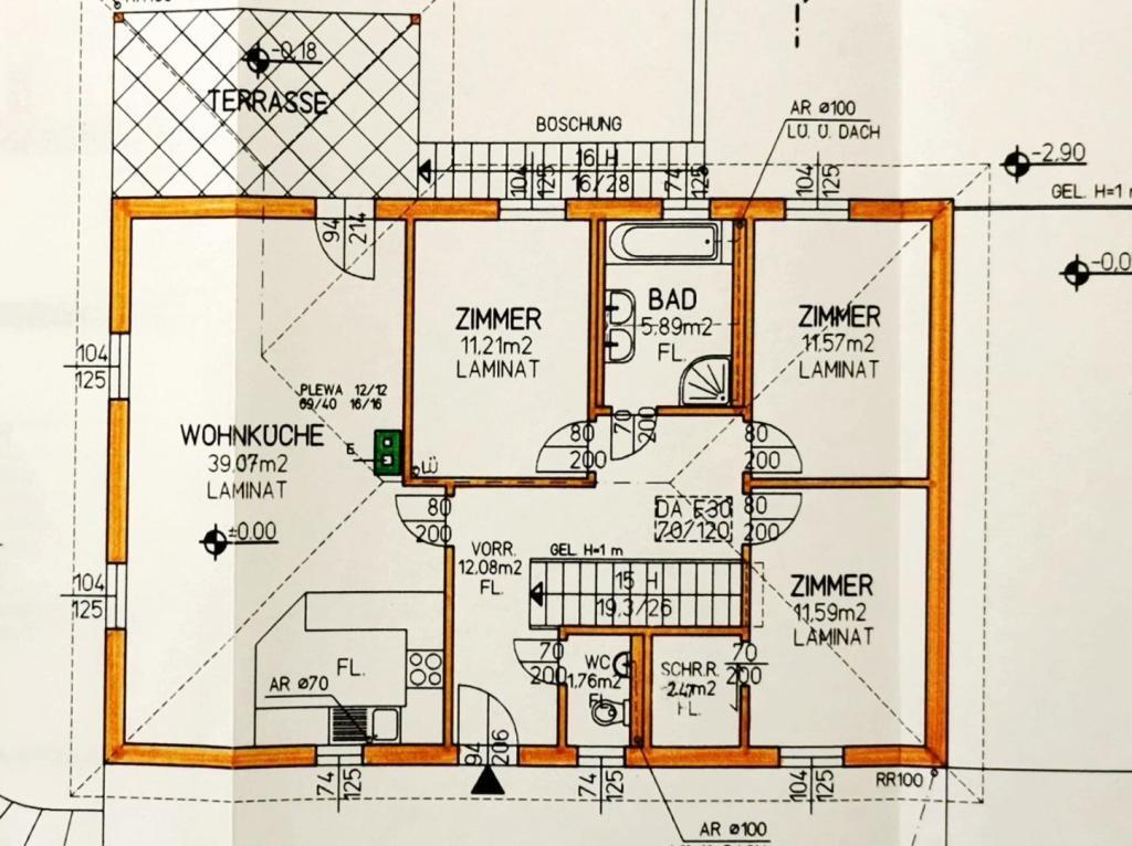 Haus Kauf Niederösterreich Korneuburg Senning 2417/7904  18 Erdgeschoss
