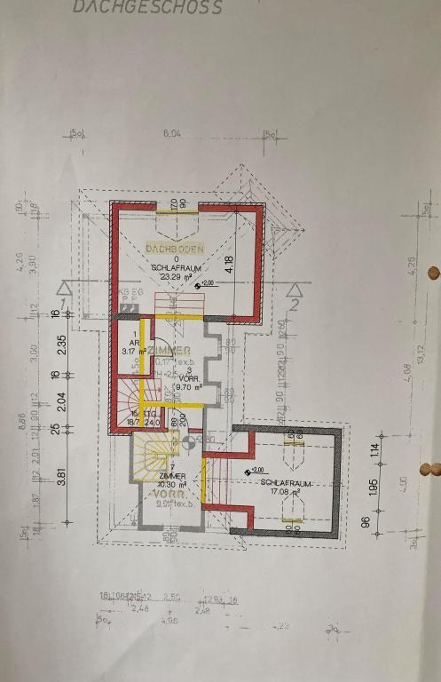 Haus Kauf Niederösterreich Tulln Klosterneuburg 2417/7988  Plan DG