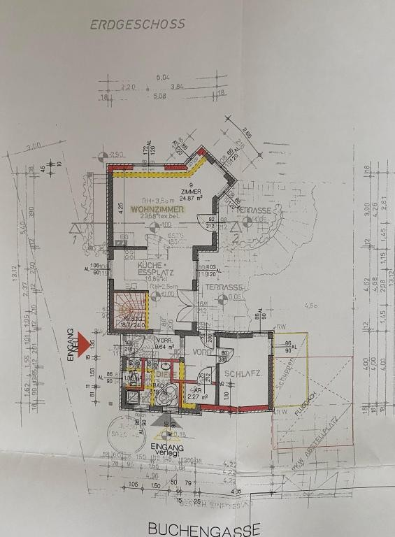 Haus Kauf Niederösterreich Tulln Klosterneuburg 2417/7988  Plan EG