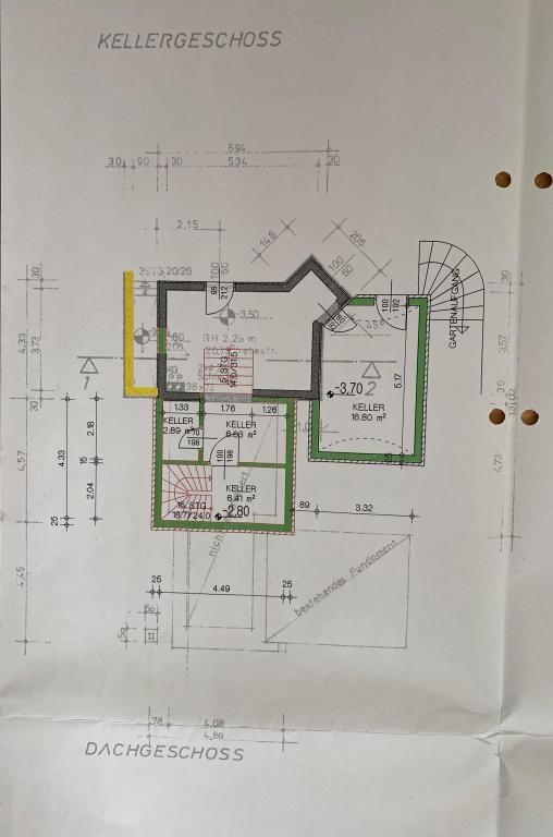 Haus Kauf Niederösterreich Tulln Klosterneuburg 2417/7988  Plan KG