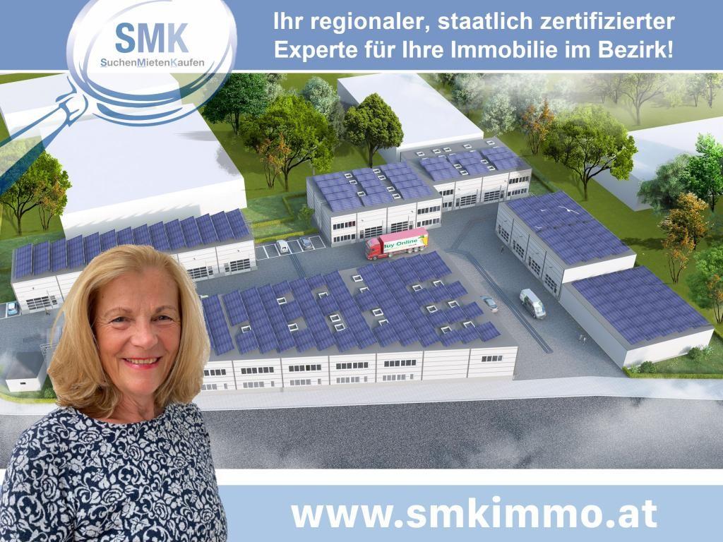 Gewerbeobjekt Miete Niederösterreich Korneuburg Spillern 2417/8027  Einfahrt mit Plakat