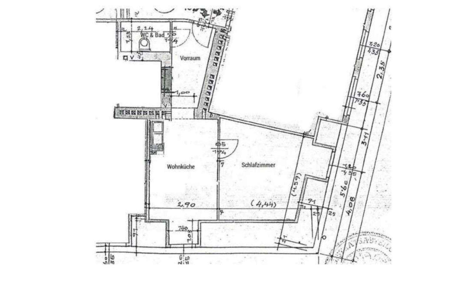 Wohnung Miete Wien Wien  3.,Landstraße Wien, Landstraße 2417/8034  7 Plan