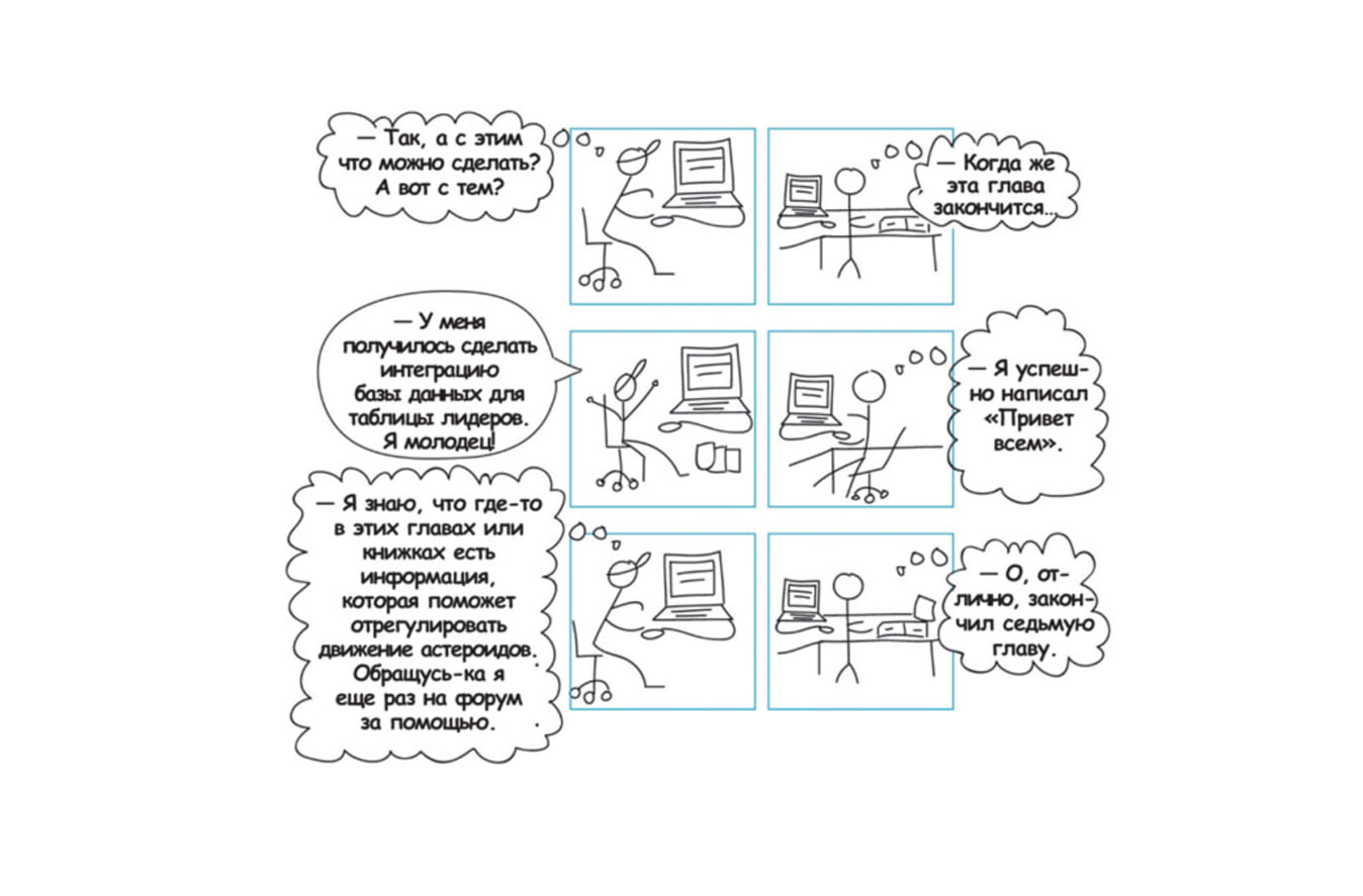 комикс про маркетинг и цели