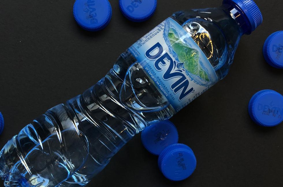 Минерална вода Девин 0.5 мл снимка