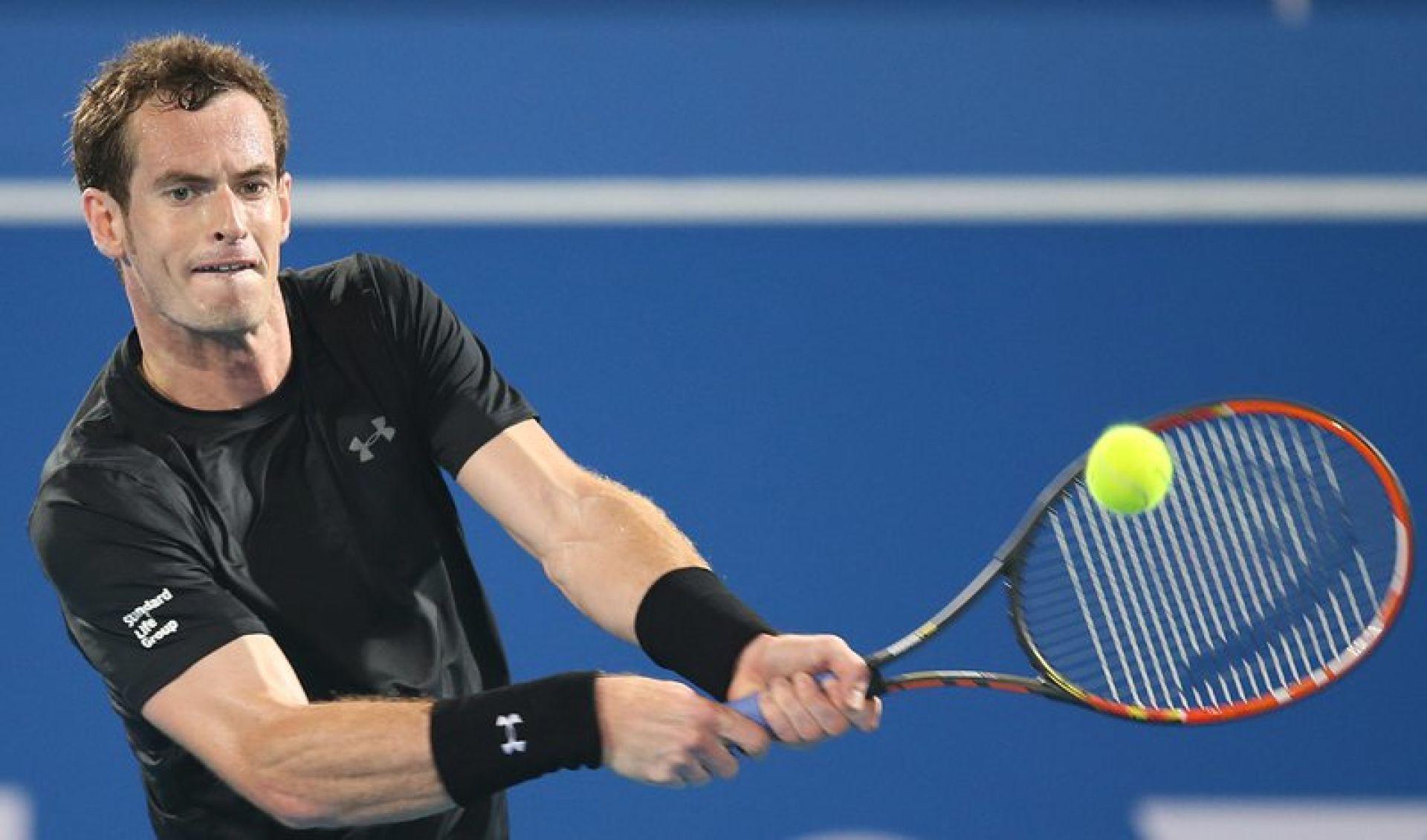 Анди Мъри се класира на полуфинал на демонстративния турнир в Абу Даби