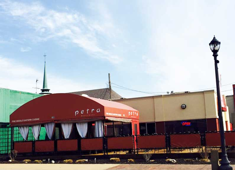 exterior of the future home of club taco in kirkwood