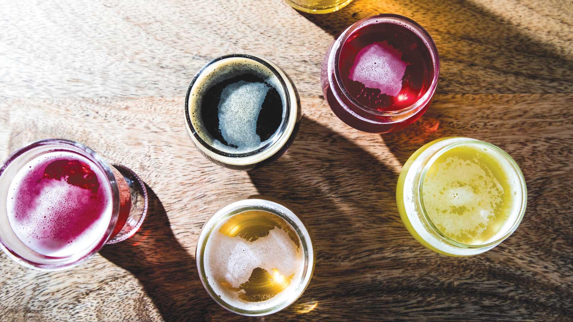Try fruity ferments like kombucha from Confluence Kombucha in St. Louis.
