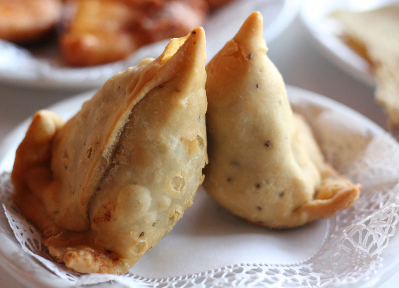 Samosa from India Palace in Maryland Heights