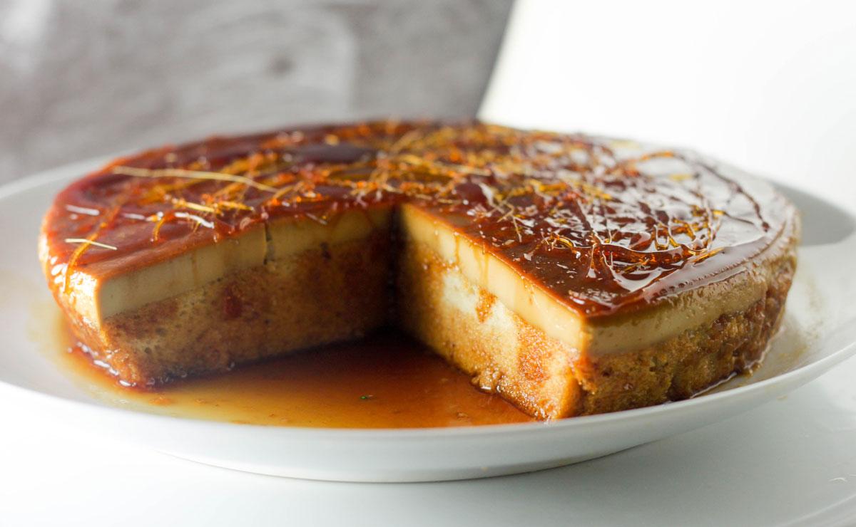 Caramel Espresso Flan Cake recipe