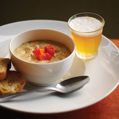 White Cheddar-APA Soup recipe