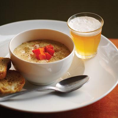 White Cheddar-APA Soup recipe