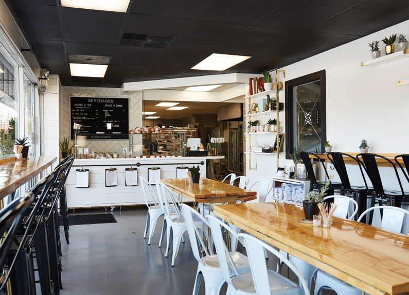 the dining room at knead