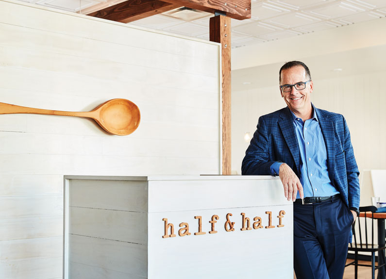 Space Architecture & Design owner Tom Niemer at Half & Half