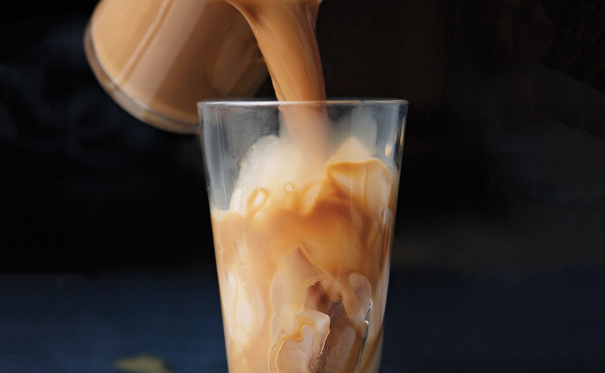 Iced Dulce de Leche Coffee