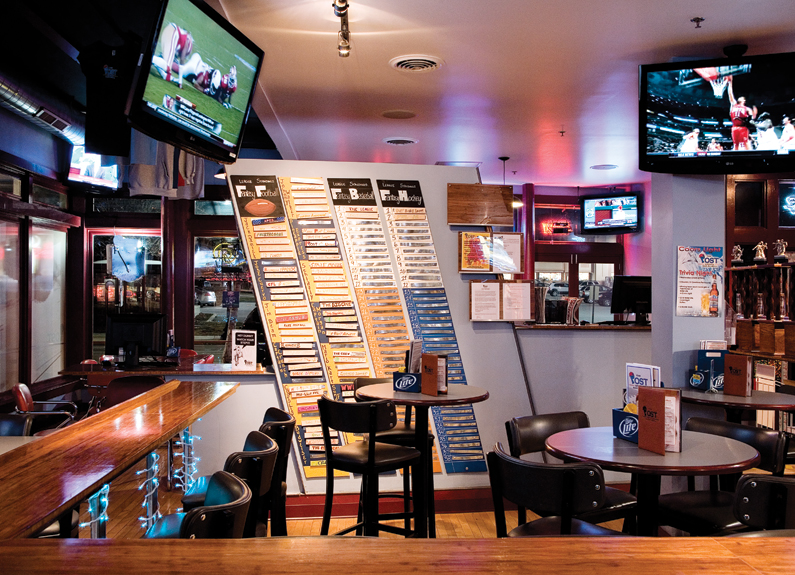 the bar at the post in maplewood