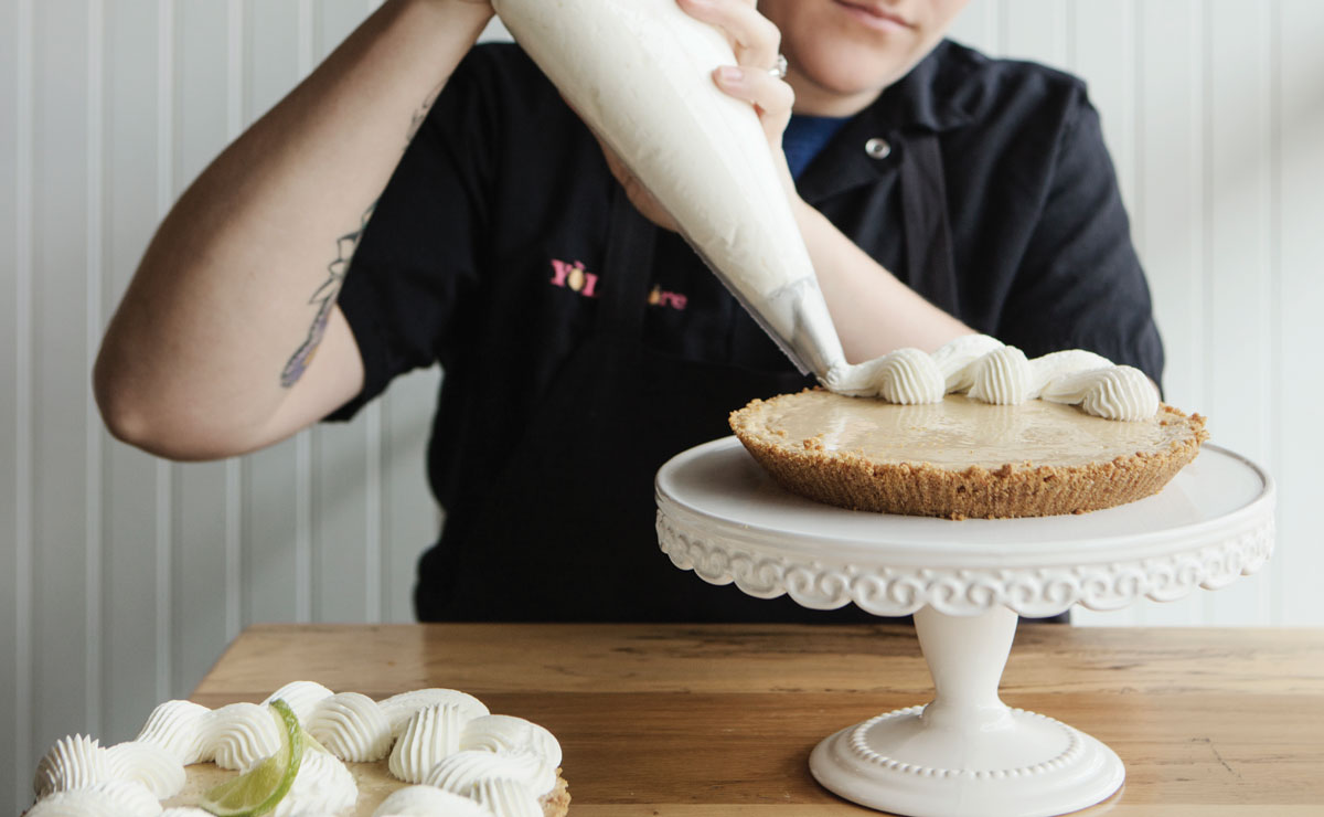 Mary Bogacki's Key Lime Pie recipe