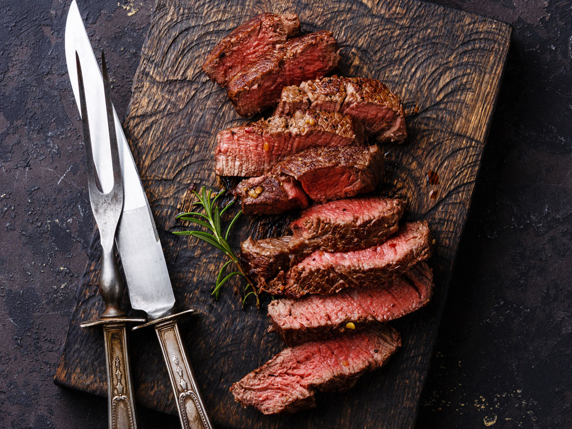 Steak with Compound Butter Pan Sauce Recipe