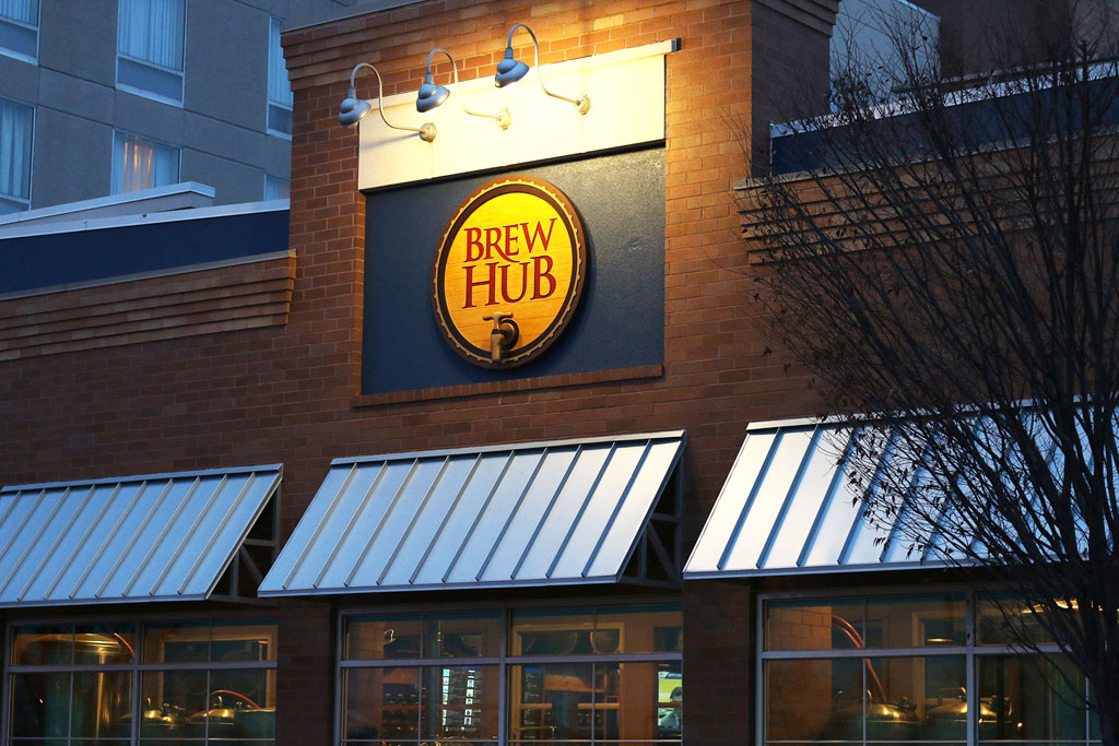 Brew Hub Taproom in Dogtown St. Louis