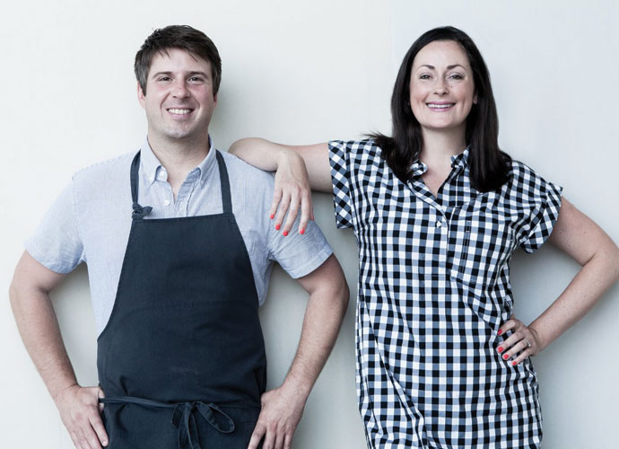 Vicia chef-owner Michael Gallina and owner Tara Gallina