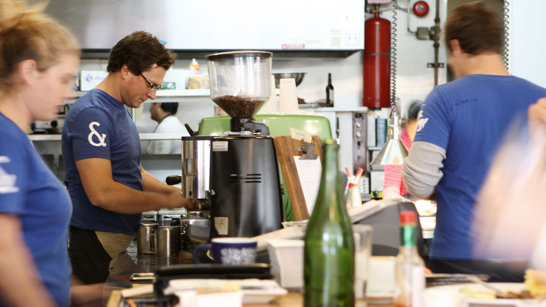Mike Marquard joins half & half to helm coffee program