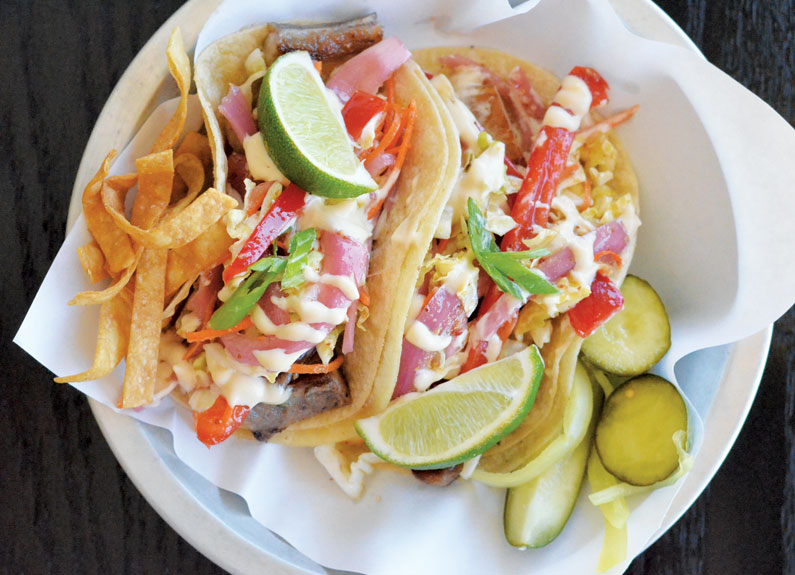 banh mi tacos from edibles and essentials in south city