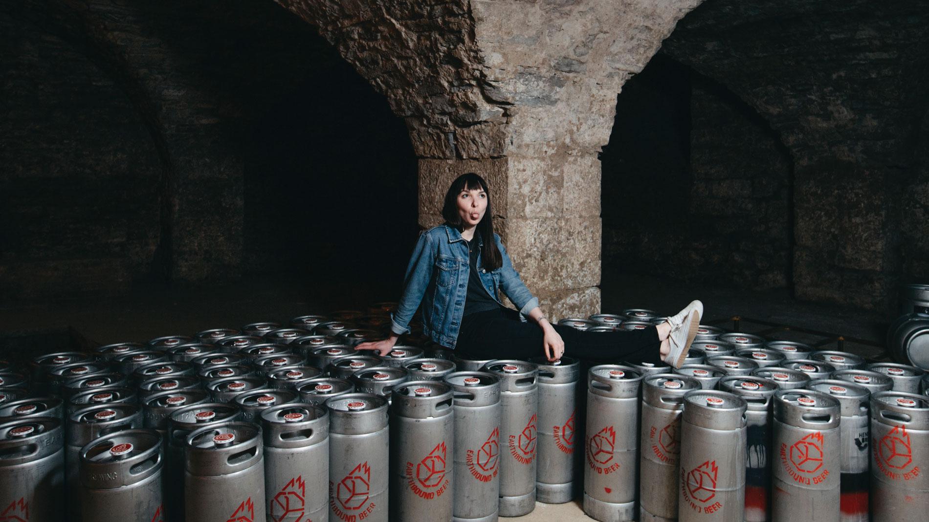 rebecca schranz of earthbound beer