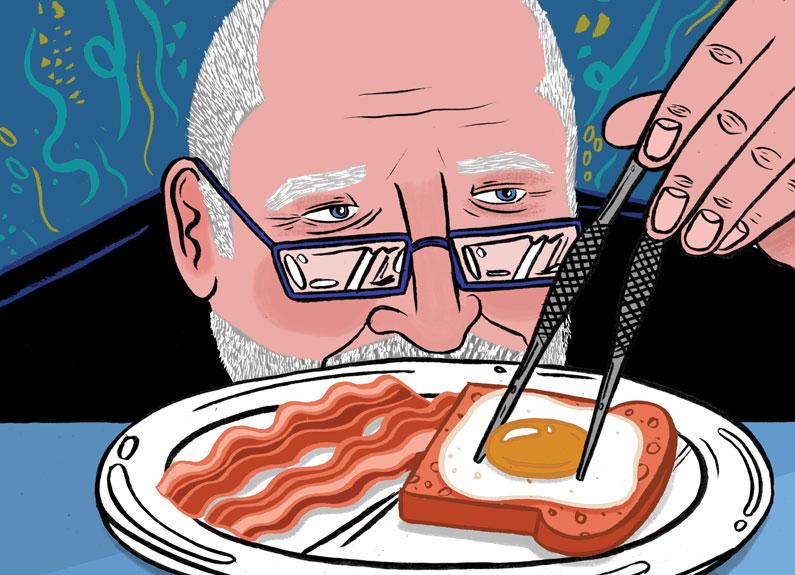 The late chef Michel Richard