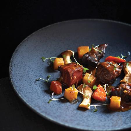 Beef Heart Bourguignon