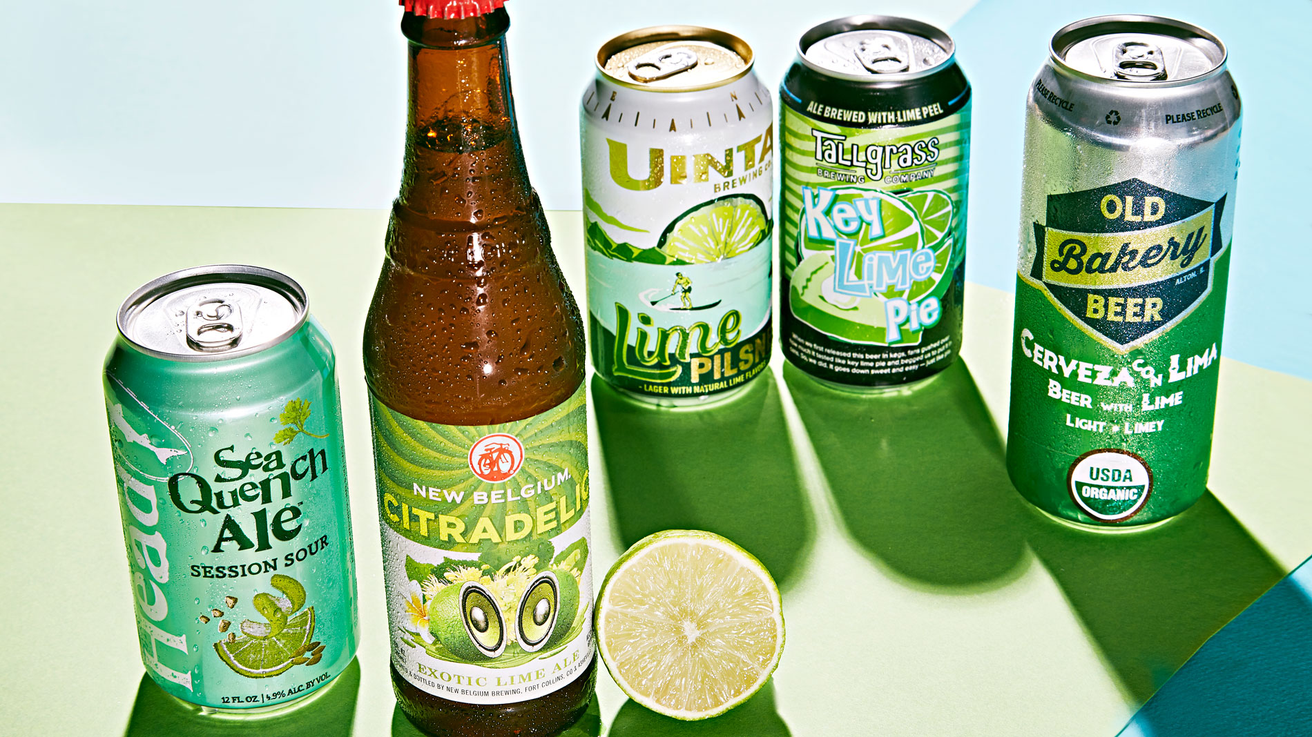 5 easy-drinking lime beers to sip now