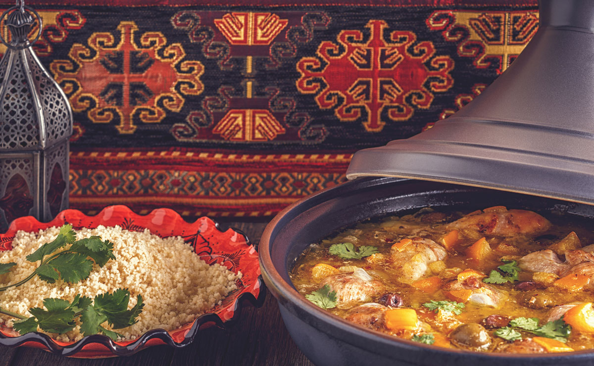 Chicken Tajine With Lemon and Olives