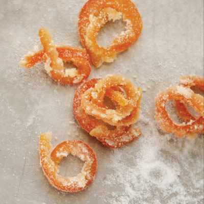 Candied Grapefruit Rind