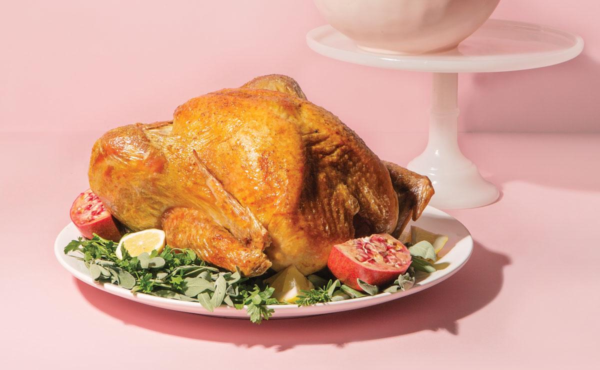 hot and fast roast turkey
