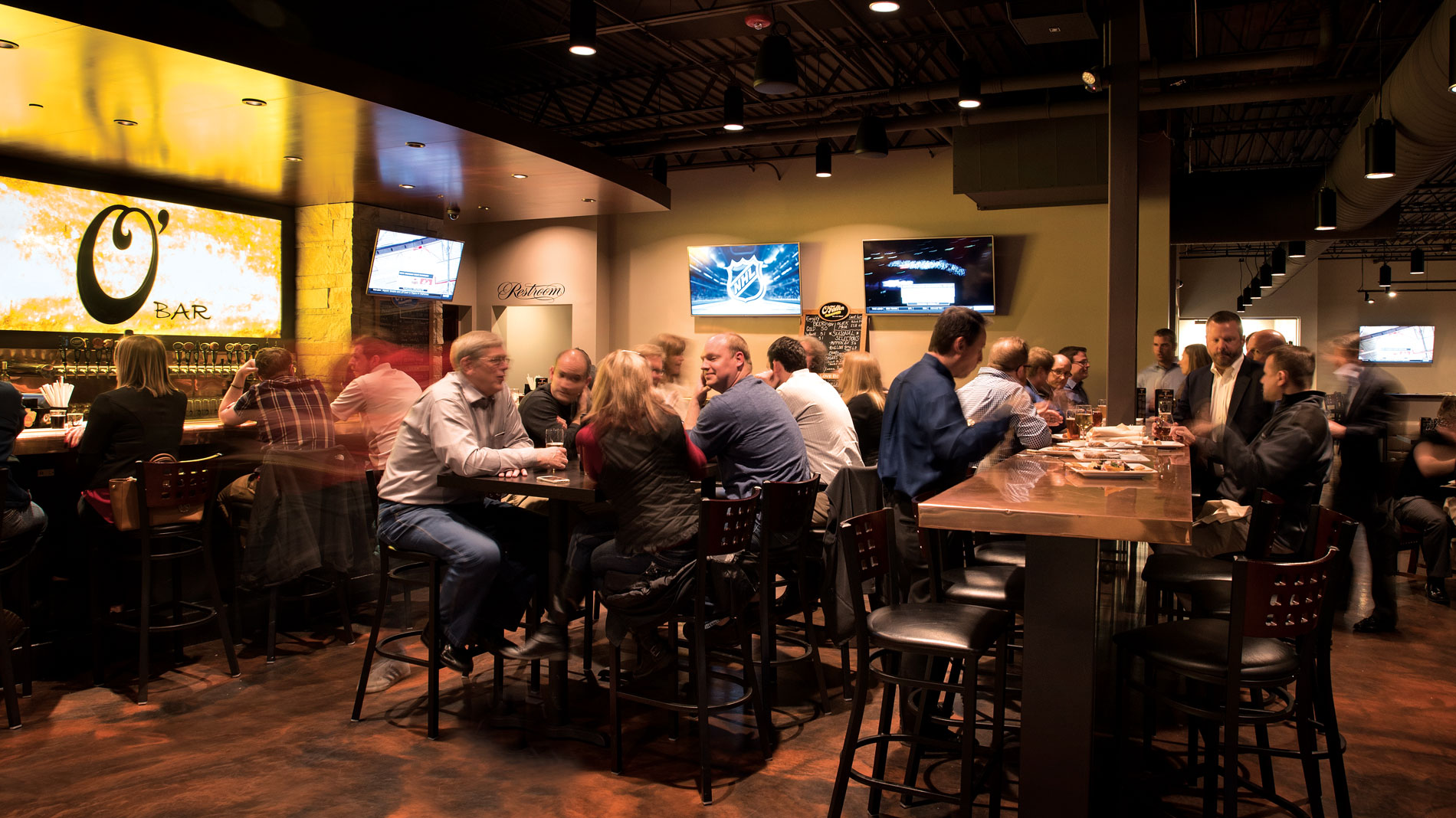 The Interior Of O Fallon Brewery Bar In Maryland Heights Photos By David Kovaluk