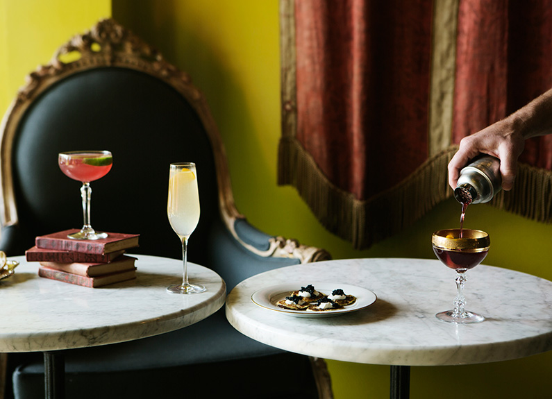 find great aperitifs at planter's house, bar les freres and cleveland-heath
